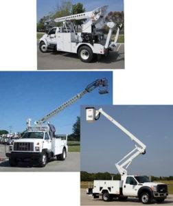 Bucket Trucks, PacTel Solutions