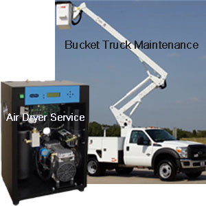 Bucket Trucks & Air Dryers