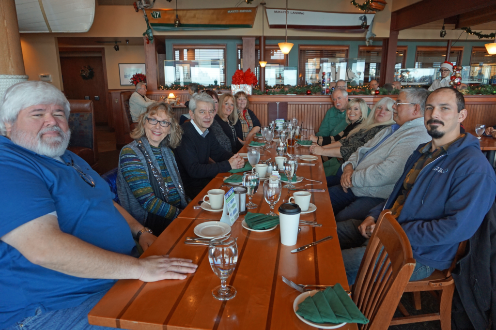 PacTel Solutions Holiday Lunch 2016 Ivars, Mukilteo WA